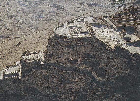 Масада. Иудейская пустыня