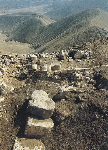 Развалины крепости Александрион, построенной вовремена правления Александра Янная. Сартаба, Восточная Самария